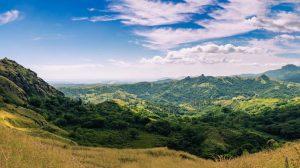 The island of Viti Levu, Fiji