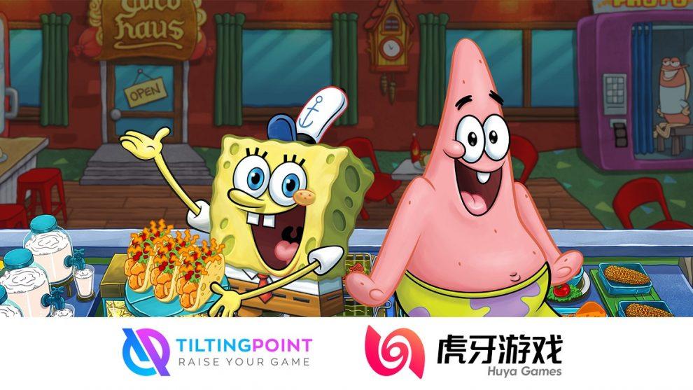 Tilting Point usa a Huya para llevar Bob Esponja: Krusty Cook-Off a China